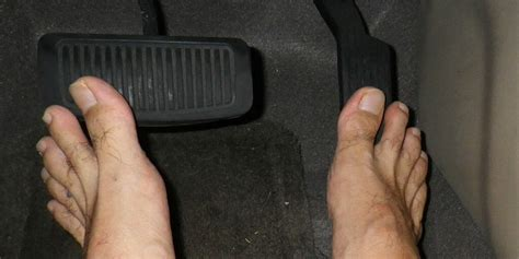 Is It Illegal to Drive Barefoot in Your State? Here's the