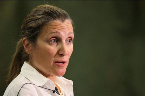 Freeland orders officials to revoke appointment of Syrian