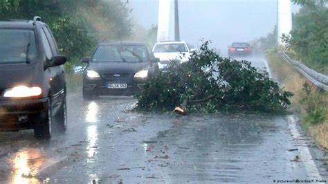 After the drought, the storm: German weather chaos