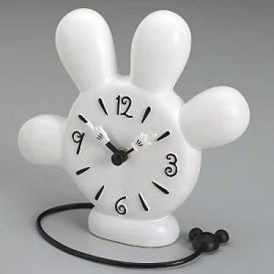 Mickey Mouse glove clock from our Clocks and Watches