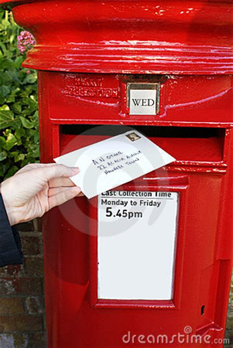 Post Letter In Mailbox Royalty Free Stock Photos - Image