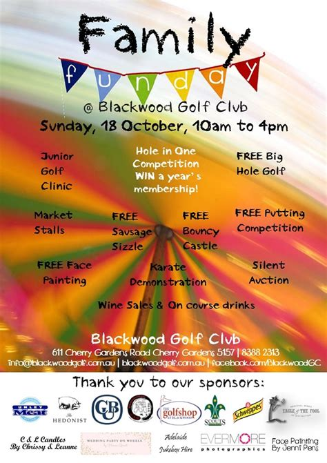 Blackwood Golf Club Family Fun Day | 18 Oct 2015 - What's