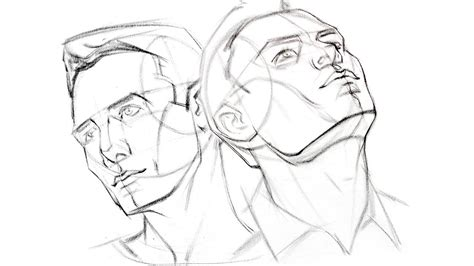How to Draw the Head from Extreme Angles - YouTube