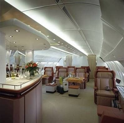 Possible Cabin Configurations Of The Airbus A380 Interior