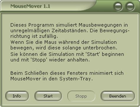 Mouse Mover   heise Download