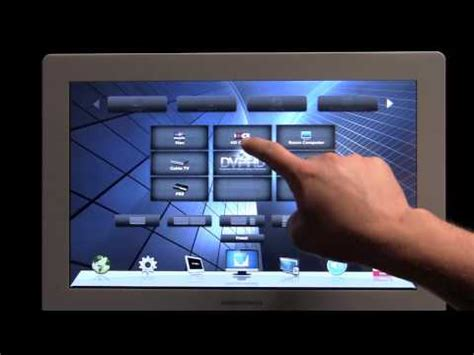 Crestron Touchpanel GUI - YouTube
