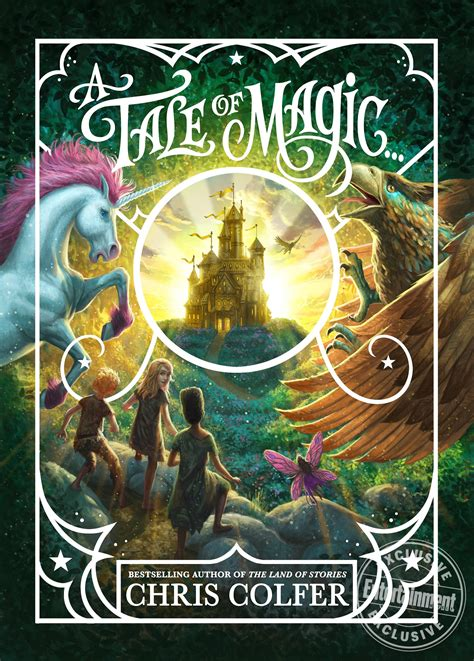 Chris Colfer reveals cover, excerpt for A Tale of Magic