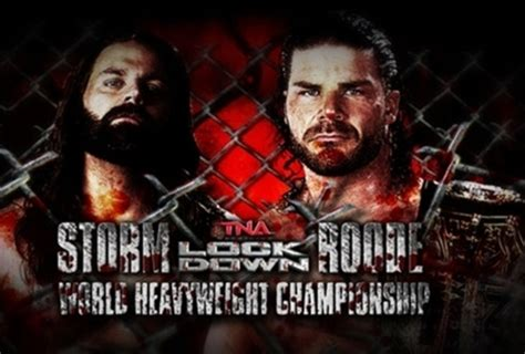 James Storm and the 5 Contenders for the TNA World Title