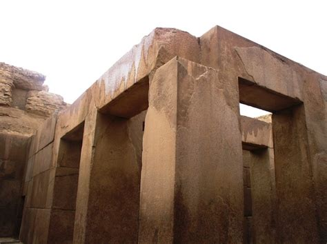 The Pyramids of Khufu, Khafre, Menkaure, and the Great