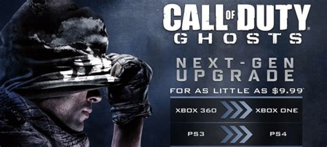 Call of Duty: Ghosts PS3 to PS4 Digital Upgrade Program