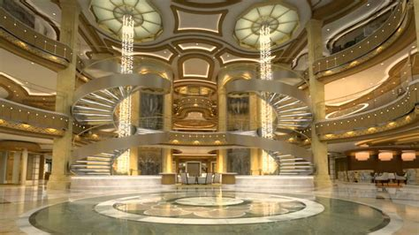 The Piazza and Atrium | Royal Princess Cruise Experience