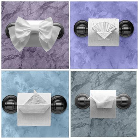 Impress House Guests With Toilet Paper Origami | All About