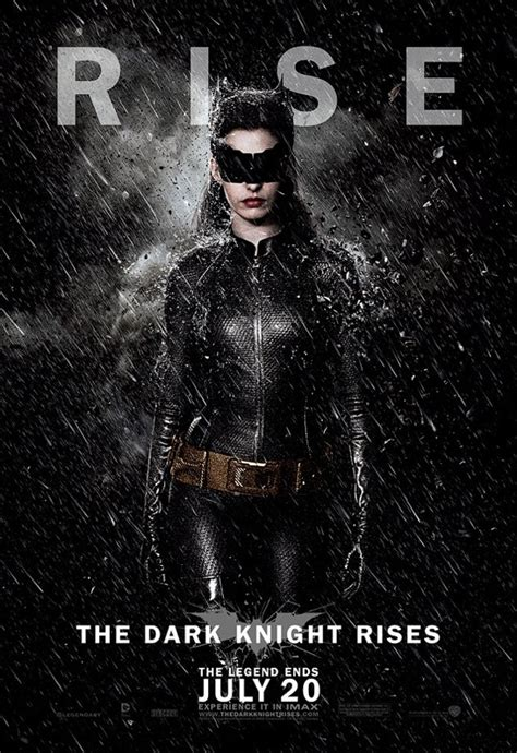The Dark Knight Rises Reveals Six New Character Posters