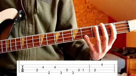 The Doors - People Are Strange (Bass Tutorial with Tabs