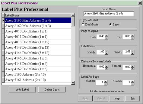 Label Plus Pro/Download contact information page