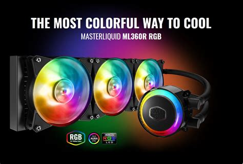 Cooler Master Announces Its First 360mm All-In-One CPU