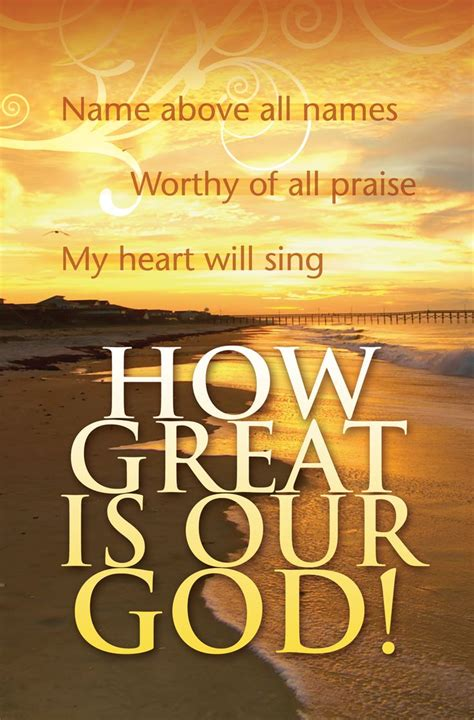 My heart will sing HOW GREAT IS OUR GOD! #Jesus #Savior