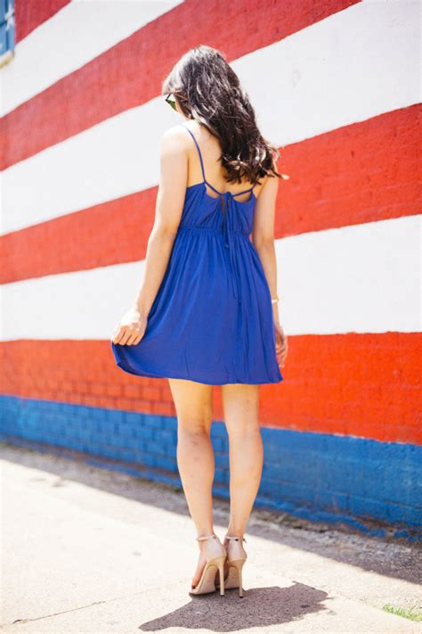 Red, White & Blue :: Fourth of July Dress - Color & Chic