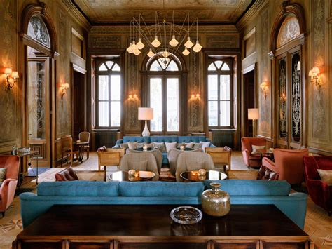 The Over-the-Top Design Hotels We Want to Move Into: Gold