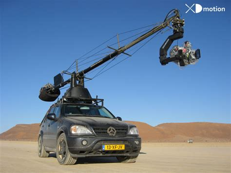 Russian Arm - Aerial filming and multi-dimensional
