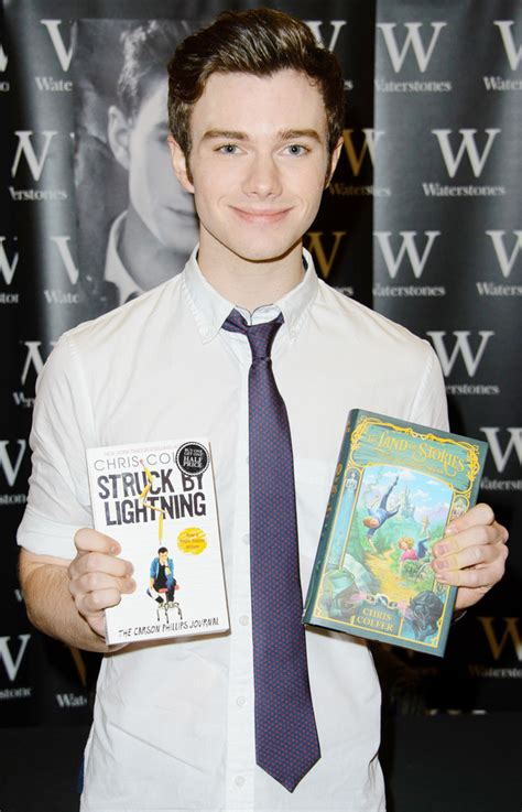 'Glee' Chris Colfer signs deal to write two new books