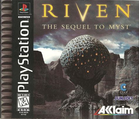 Riven: The Sequel to Myst for PlayStation (1997) - MobyGames