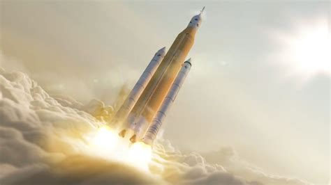 Space Launch System: First launch of Nasa's most powerful