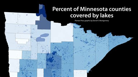 Minnesota lakes map, plus 9 more about Minnesota's waters