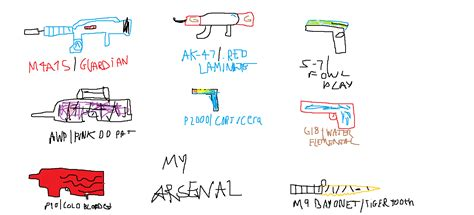 8 Awesome CSGO Themed Drawings - BC-GB