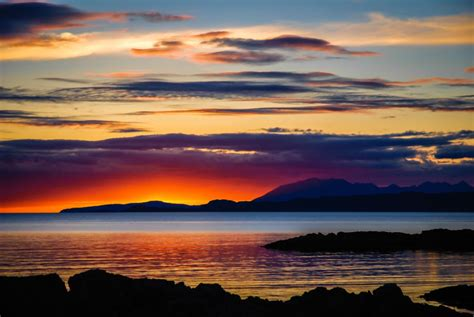 Sunset Over Skye - A3 Limited Edition Print Colour