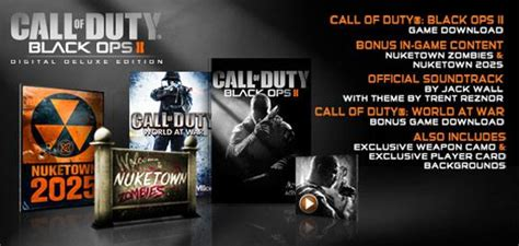 Call of Duty Black Ops 2 Digital Deluxe kaufen - MMOGA