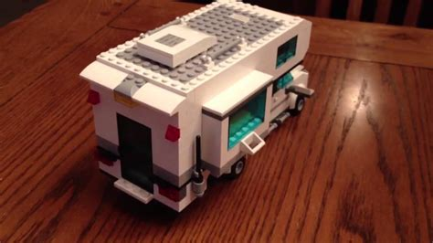 Lego camper in pick up truck bed - YouTube